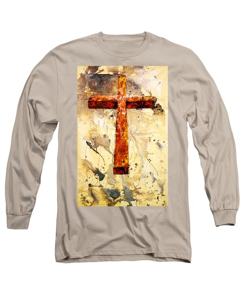 On That Old Rugged Cross Long Sleeve T-Shirt