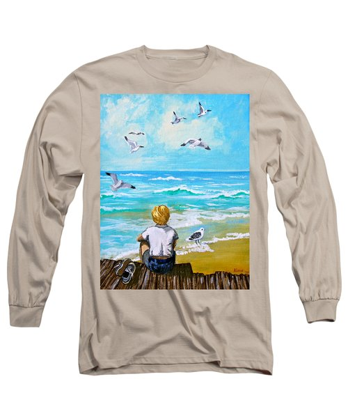 On The Boardwalk Long Sleeve T-Shirt