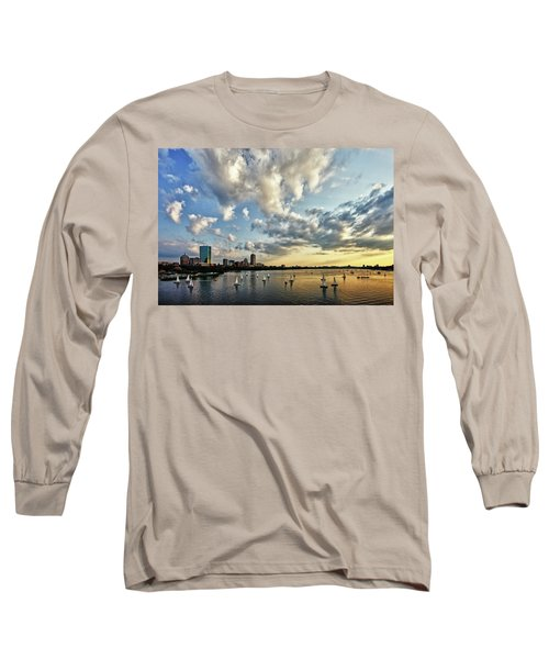 On The Charles II Long Sleeve T-Shirt by Rick Berk