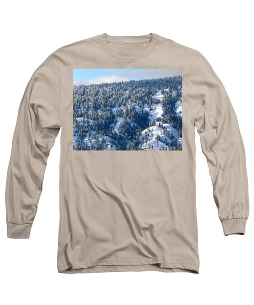 Long Sleeve T-Shirt featuring the photograph On The Far Side by Will Borden