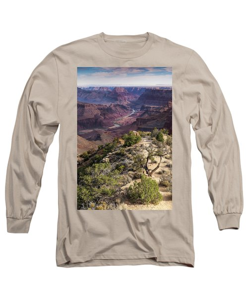 Looking Out The Front Door Long Sleeve T-Shirt