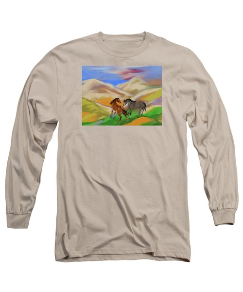 On The Mountian Long Sleeve T-Shirt