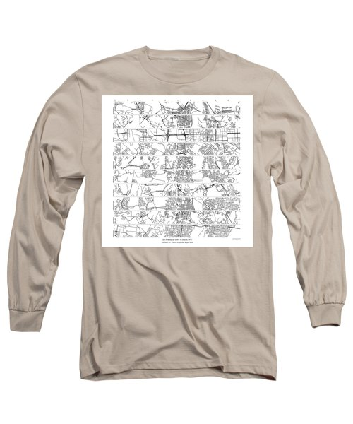 On The Road With 10 Digits Of Pi Long Sleeve T-Shirt