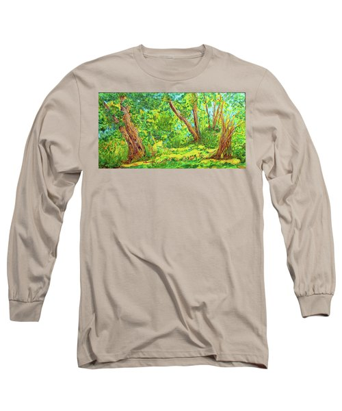 On The Path Long Sleeve T-Shirt by Susan D Moody