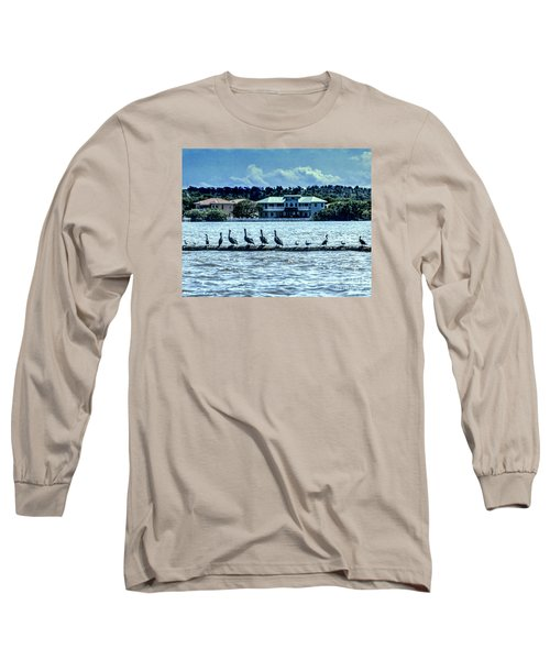 On The Water Long Sleeve T-Shirt by Ken Frischkorn
