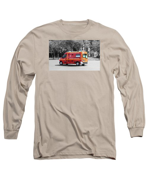 On The Way To Help Long Sleeve T-Shirt by RKAB Works