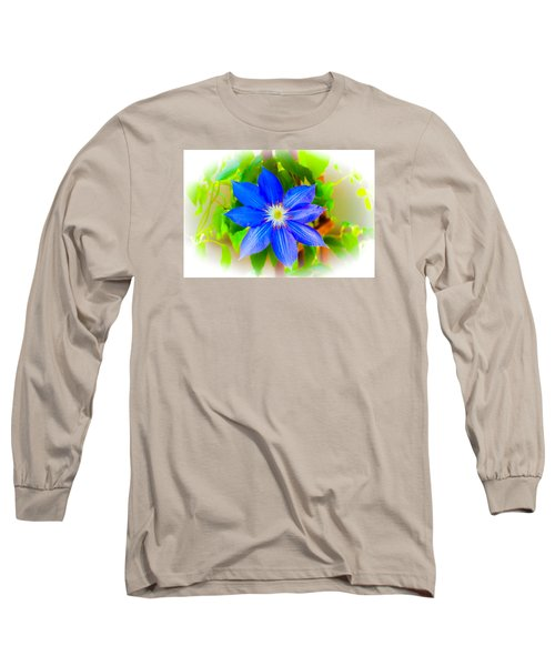 One Bloom - Pla226 Long Sleeve T-Shirt by G L Sarti