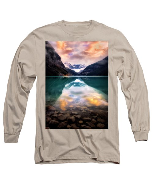 One Colorful Moment  Long Sleeve T-Shirt by Nicki Frates