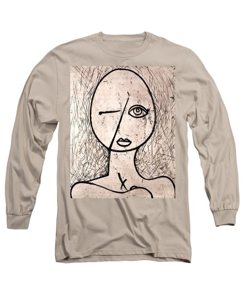 One Eye Long Sleeve T-Shirt by Thomas Valentine
