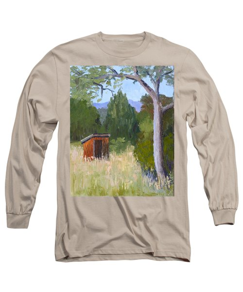 One Holer Long Sleeve T-Shirt by Susan Woodward