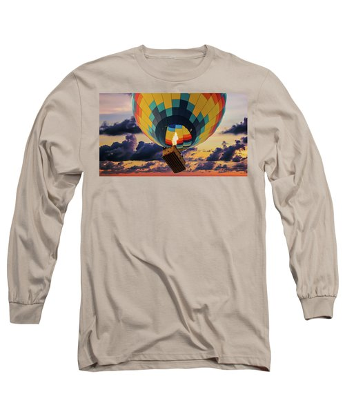 One Morning In Napa Valley Long Sleeve T-Shirt