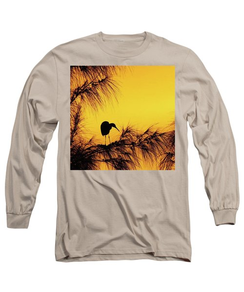 One Of A Series Taken At Mahoe Bay Long Sleeve T-Shirt by John Edwards