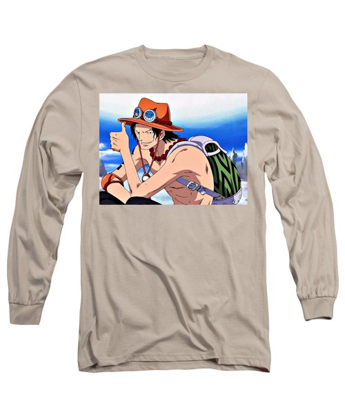 One Piece Long Sleeve T-Shirt