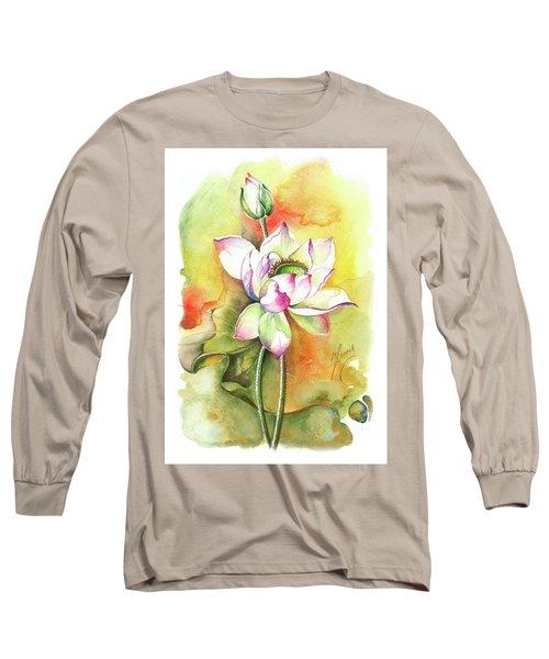 One Sunny Day Long Sleeve T-Shirt by Anna Ewa Miarczynska