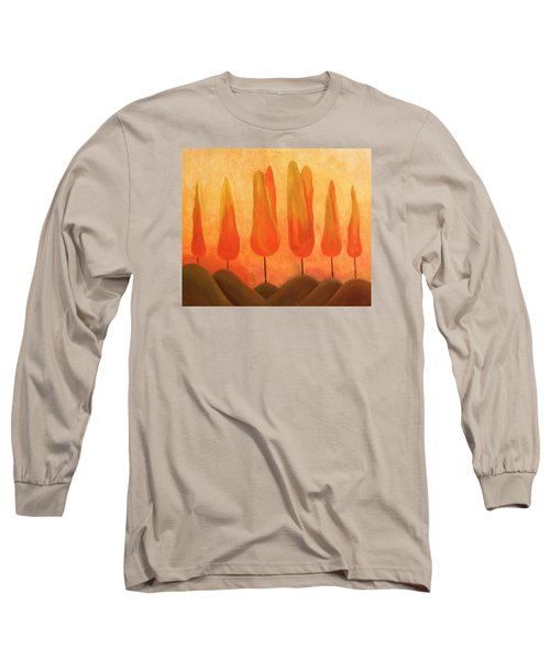 One Treeperhill Long Sleeve T-Shirt by John Stuart Webbstock
