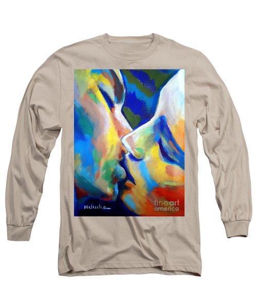 Oneness Long Sleeve T-Shirt by Helena Wierzbicki