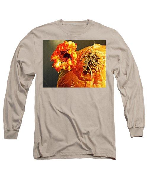Onion And His Daisy Long Sleeve T-Shirt by Sarah Loft