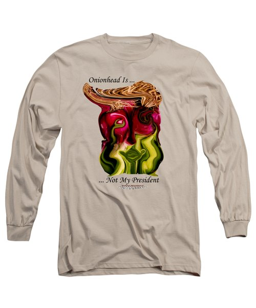 Onionhead Transparency Long Sleeve T-Shirt by Robert Woodward