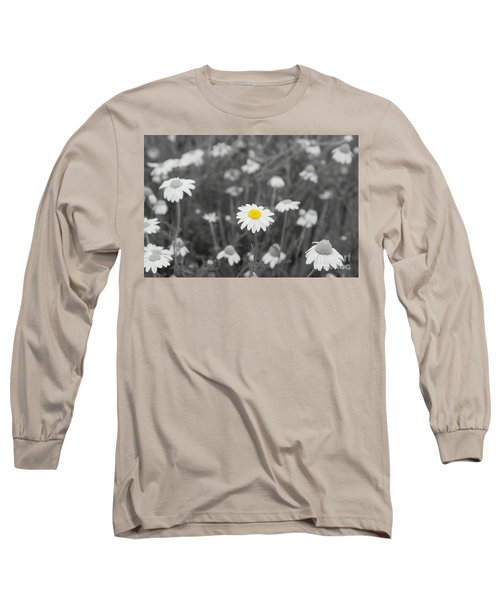 Long Sleeve T-Shirt featuring the photograph Oopsy Daisy by Benanne Stiens