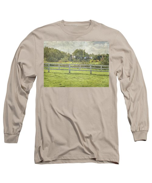 Open Air Clothes Dryer Long Sleeve T-Shirt