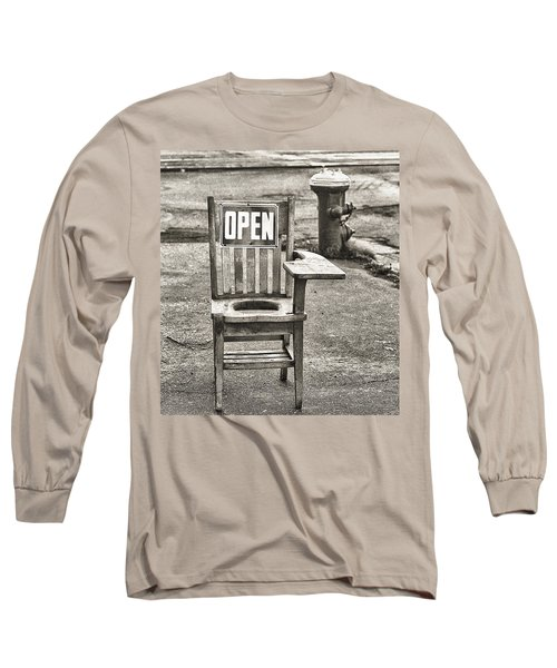 Open Long Sleeve T-Shirt by Jeffrey Jensen