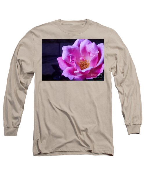 Open Rose Long Sleeve T-Shirt
