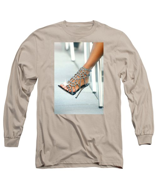Open Toe Long Sleeve T-Shirt by Diana Angstadt