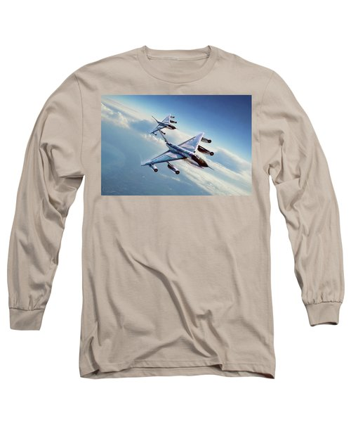 Long Sleeve T-Shirt featuring the digital art Operation Heat Rise by Peter Chilelli