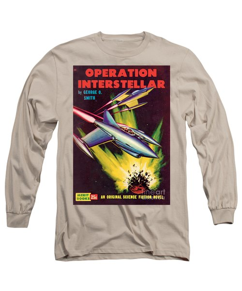 Operation Interstellar Long Sleeve T-Shirt by Malcolm Smith