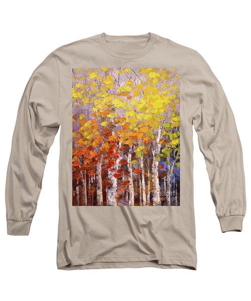 Operation October Long Sleeve T-Shirt by Tatiana Iliina
