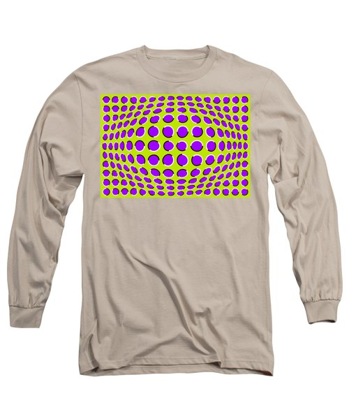 Optical Illusion The Ball Long Sleeve T-Shirt