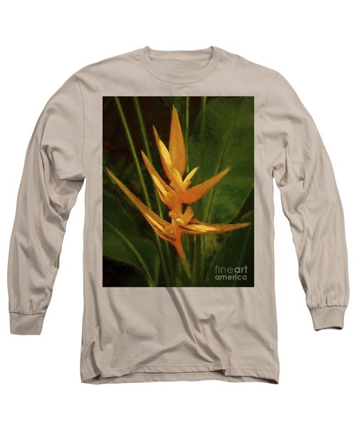 Orange Art Long Sleeve T-Shirt