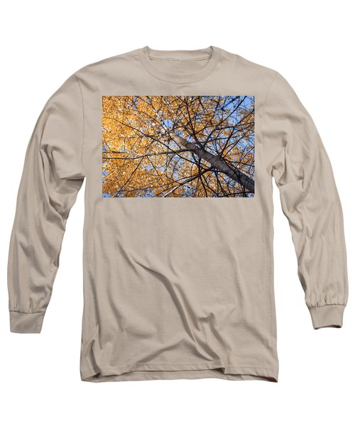 Orange Autumn Tree. Long Sleeve T-Shirt