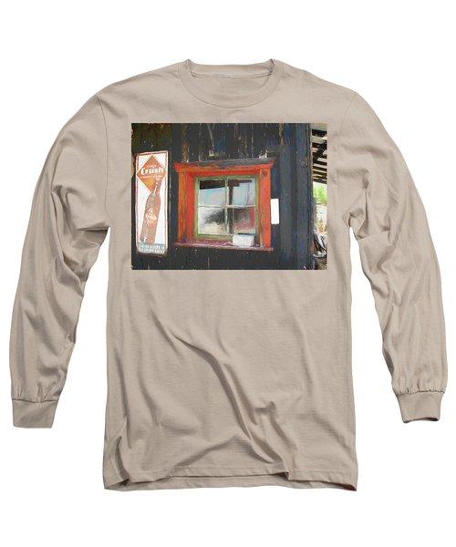 Orange Crush Orange Window Long Sleeve T-Shirt