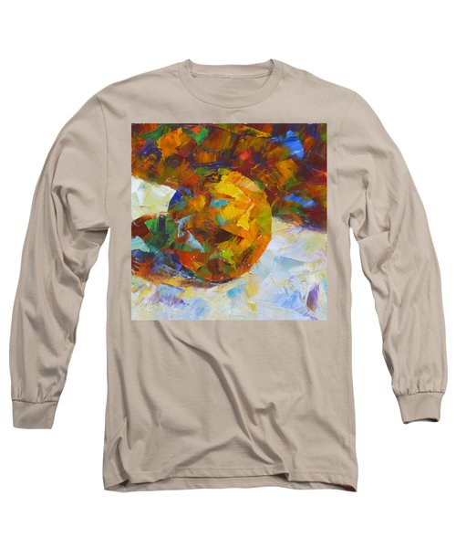 Orange Flash Long Sleeve T-Shirt