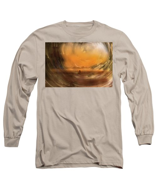 Orange Gust Long Sleeve T-Shirt