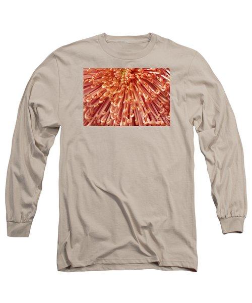 Orange Mum Long Sleeve T-Shirt