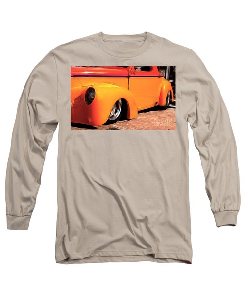 Orange Rush - 1941 Willy's Coupe Long Sleeve T-Shirt
