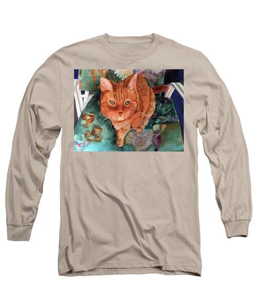 Orange Tabby Long Sleeve T-Shirt