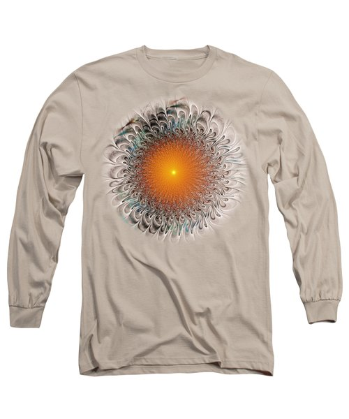 Orange Zone Long Sleeve T-Shirt by Anastasiya Malakhova