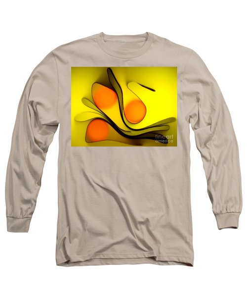 Long Sleeve T-Shirt featuring the photograph Oranges by Trena Mara