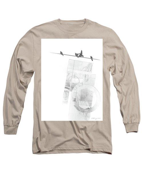 Orbit No. 3 Long Sleeve T-Shirt