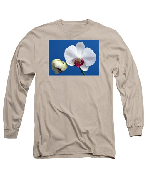 Orchid Out Of The Blue. Long Sleeve T-Shirt by Terence Davis