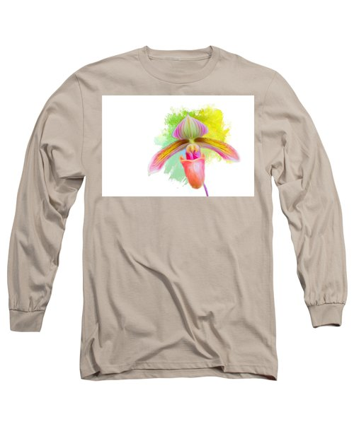 Orchid Whimsy Long Sleeve T-Shirt