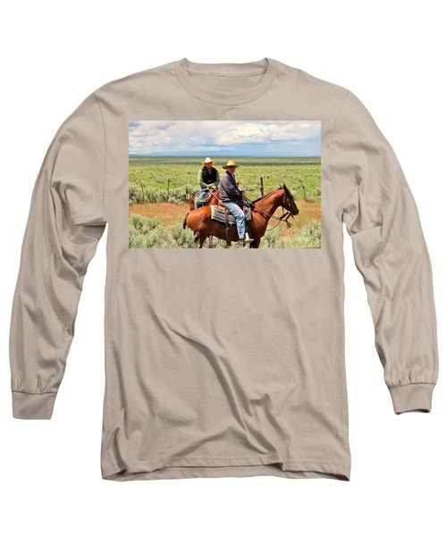 Oregon Cowboys Long Sleeve T-Shirt by Michele Penner