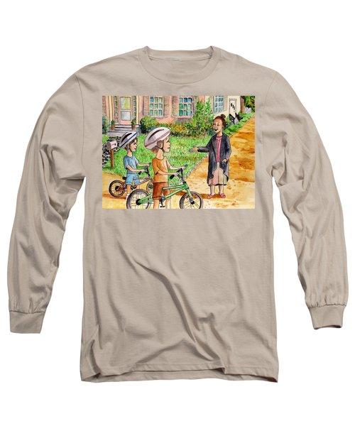 Oreo And Braun Long Sleeve T-Shirt