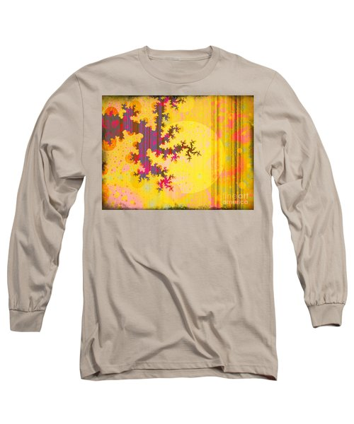 Oriental Moon Behind My Courtain Long Sleeve T-Shirt