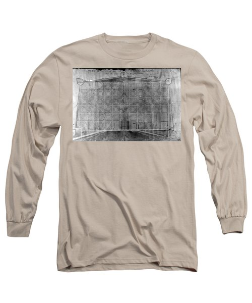Original French Quarter Map Long Sleeve T-Shirt