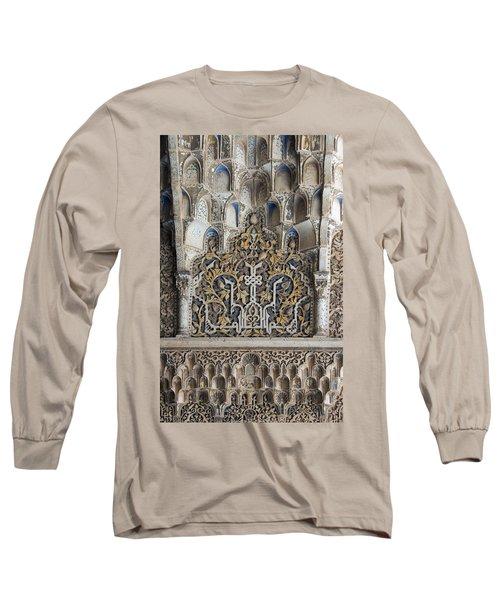 Ornate Plasterwork Long Sleeve T-Shirt
