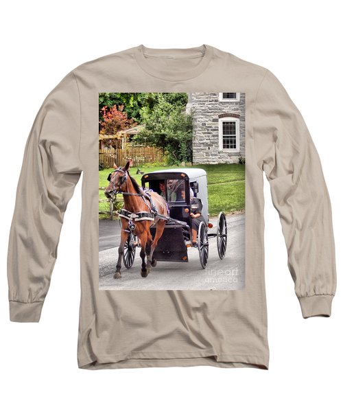 Ornery Long Sleeve T-Shirt by Polly Peacock